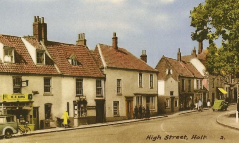 Large holt shop 1950 s