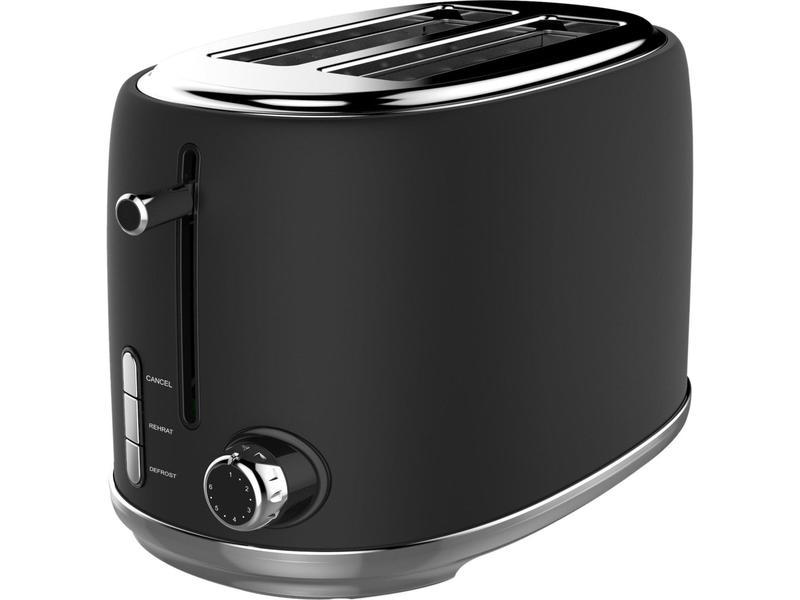 Linsar KY865BLACK 2 Slice Toaster - Black
