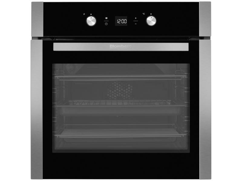Blomberg OEN9302X Built In Fanned Programmable Electric Single Oven - S/Steel - A Rated