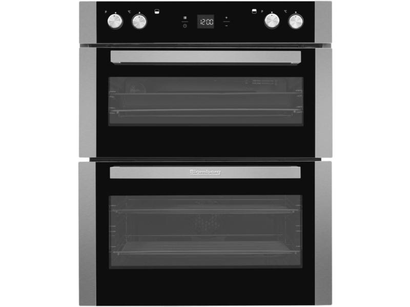 Blomberg OTN9302X Built Under Electric Double Oven - Stainless Steel