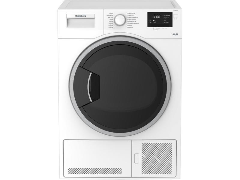Blomberg LTK28021W 8kg Condenser Tumble Dryer - White - B Rated