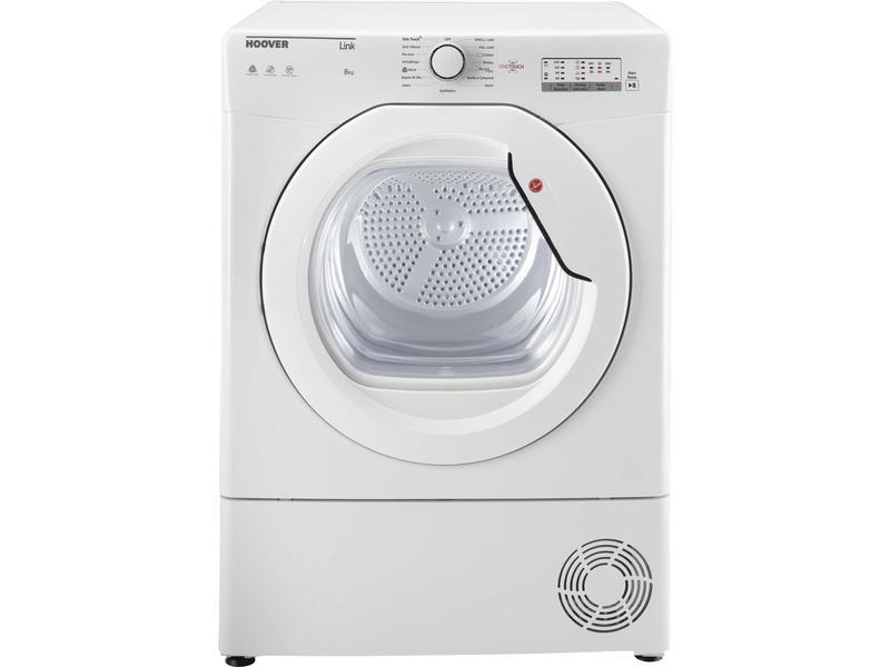 Hoover BHLC8LG 8kg Condenser Tumble Dryer - White - B Rated
