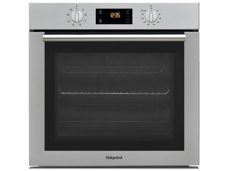 Hotpoint SA4544CIX Built In Electric Single Oven - Stainless Steel - A Rated