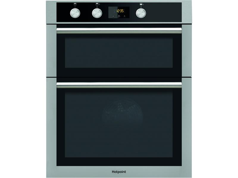 Hotpoint DD4544JIX Built In Electric Double Oven - Stainless Steel - A/A Rated