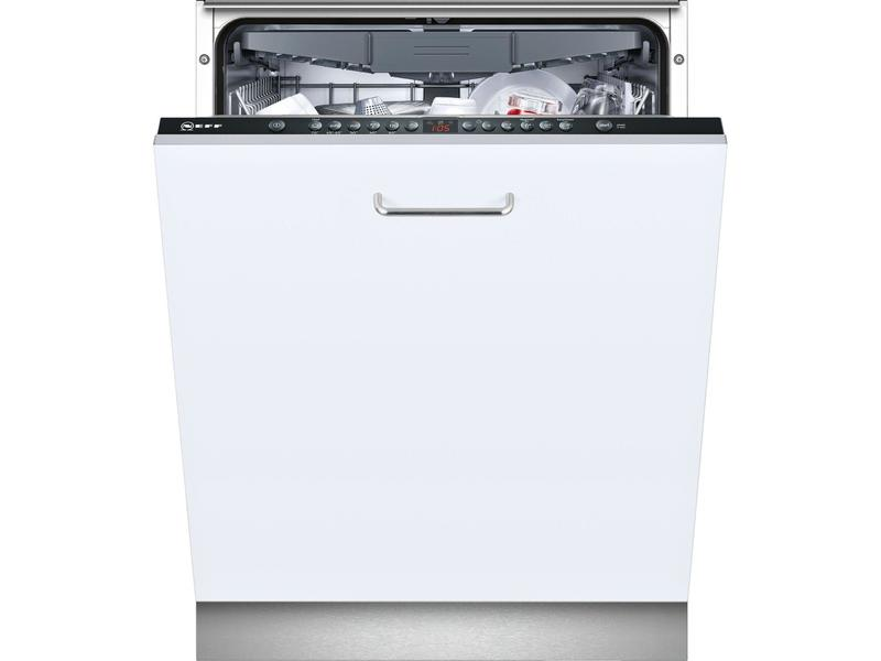 Neff S513M60X2G Integrated Full Size Dishwasher - Black Control Panel - A++ Rated