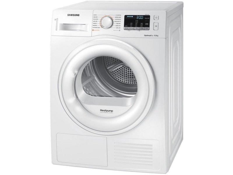 Samsung DV90M50001W 9kg Heat Pump Tumble - Dryer - White - A++ Rated
