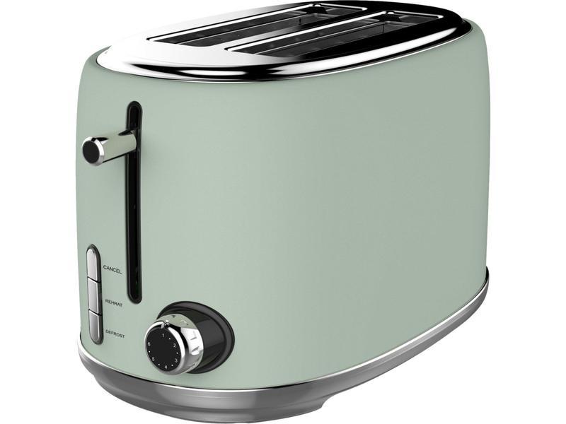 Linsar KY865GREEN 2 Slice Toaster - Green