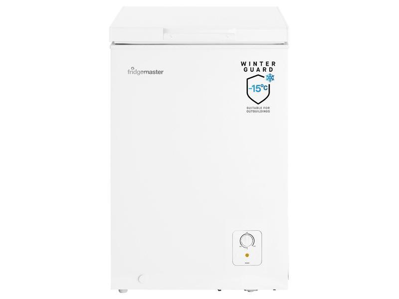Fridgemaster MCF95 95 Litre Chest Freezer - White - A+ Rated