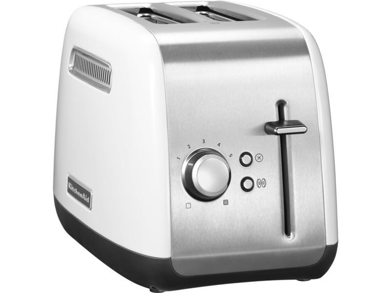 KitchenAid 5KMT2115BWH Classic 2 Slice Toaster - White