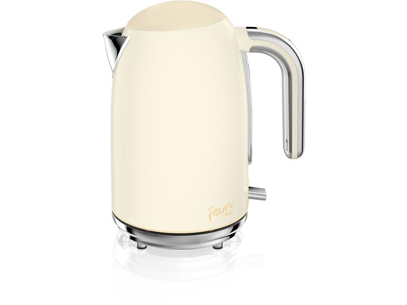 Fearne By Swan SK4030HON 1.7 Litre Silent Boil Kettle - Pale Honey