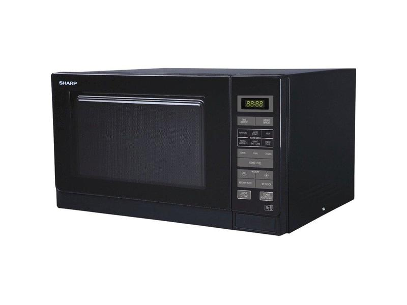 Sharp R372KM 25 Litre Solo Microwave - Black