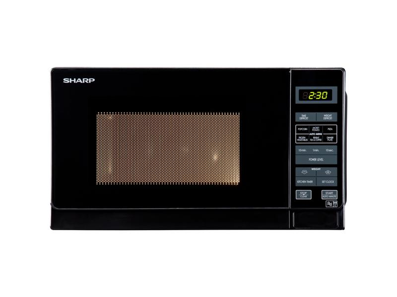 Sharp R272KM 20 Litre Solo Microwave - Black