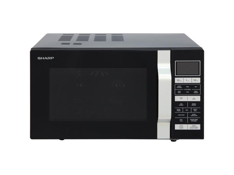 Sharp R860KM 25 Litre Combination Microwave - Black