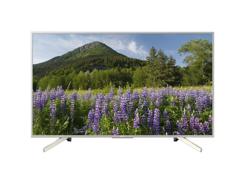 "Sony KD43XF7073SU 43"" UHD TV - Sony Bravia 4K UHD HDR TV - Freeview HD - Freeview Play - Silver"