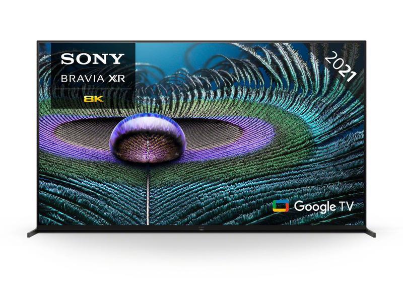 """Sony XR75Z9JU 75"""" BRAVIA XR MASTER Series Full Array 8K HDR LED SMART Google TV"""